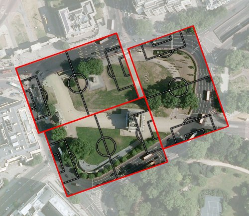 Hyde Park Corner in London is bigger than THREE full-sized football pitches!